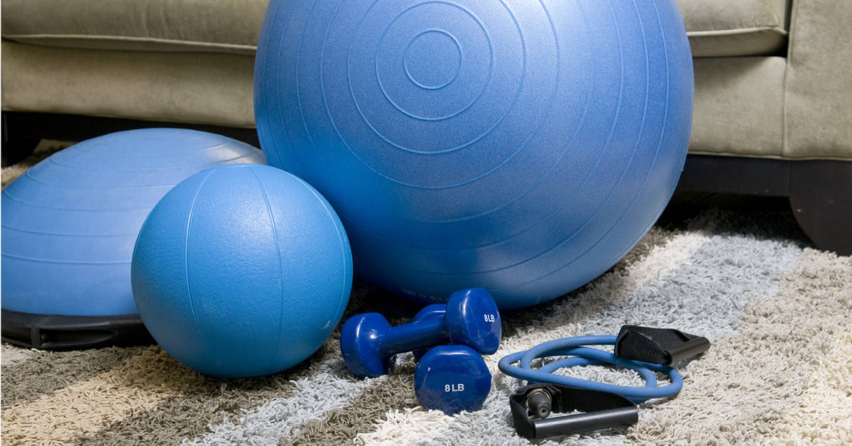 Keeping fit at home – 7 must own pieces of training equipment