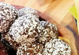 Protein & Energy Coconut Bliss Balls
