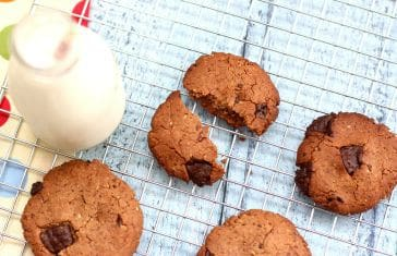 Flaxseed, Pumpkin & Sunflower Seed Protein Cookies