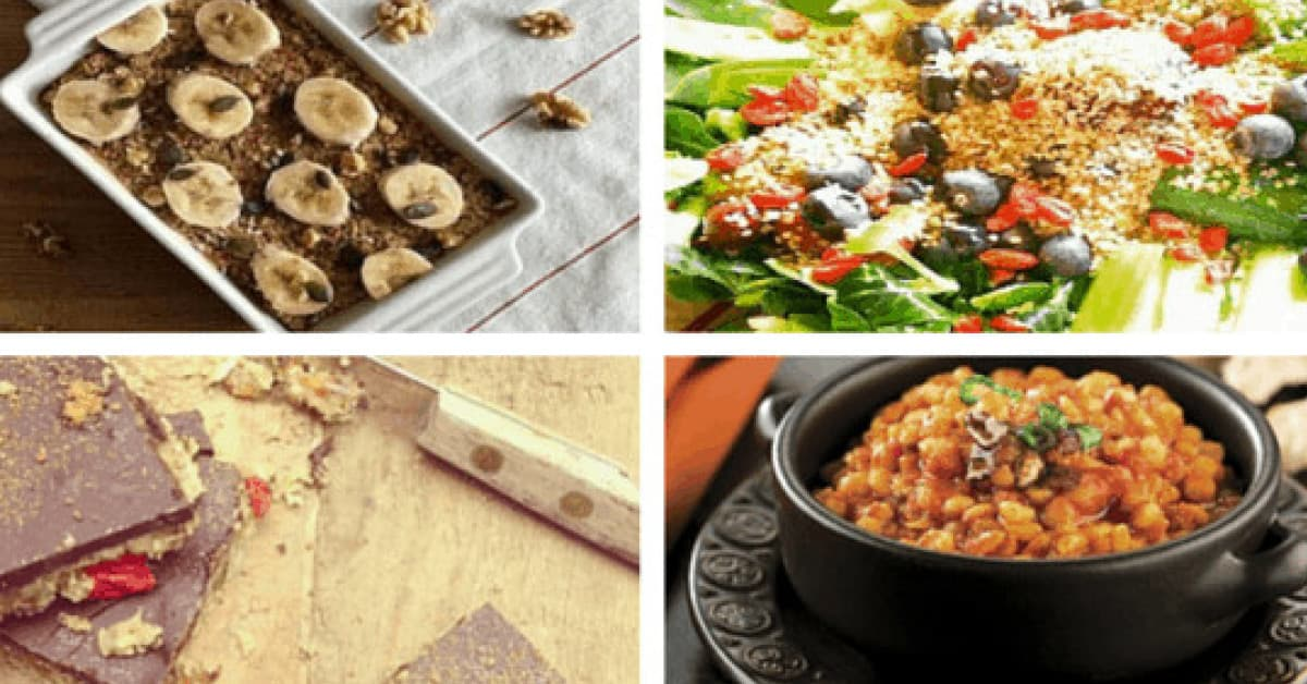 Free-From recipes to enjoy every day