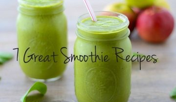 7 Great Smoothie Recipes for a Healthy Boost