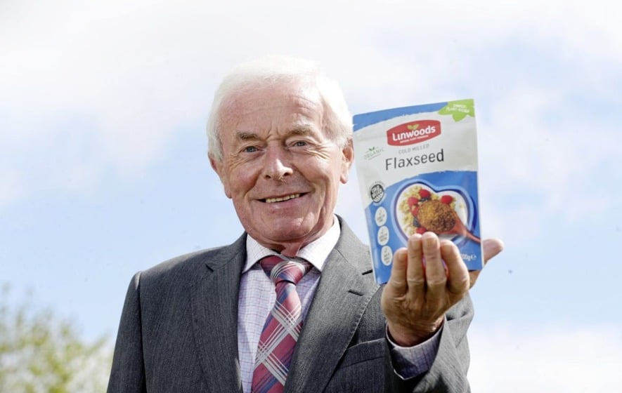 John Woods, founder of Linwoods Health Foods