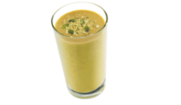 Spicy Banana Protein Smoothie