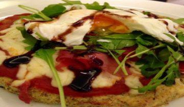 Chia Seed Cauliflower Pizza