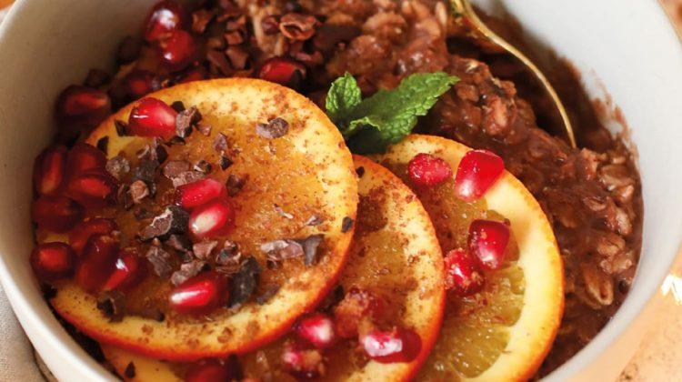 Chocolate Orange Porridge Bowl