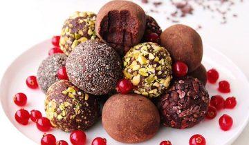 Vegan & Gluten Free Chocolate Truffles