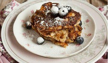 Gluten-free lemon pancakes