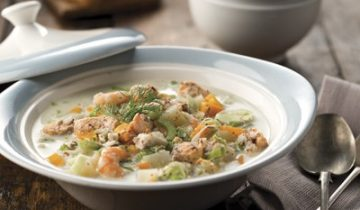 Hearty Seafood Chowder