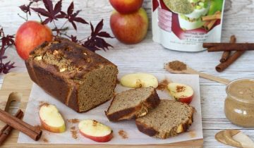 Apple & Cinnamon Loaf