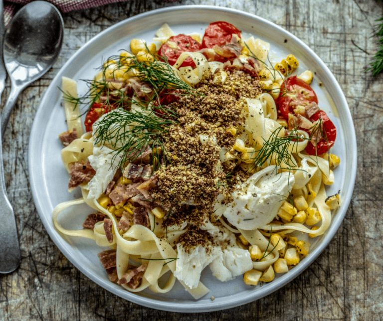 flax-seed-pasta-dish