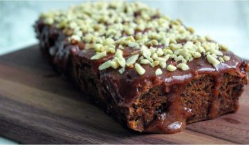 Sticky Date Banana Loaf