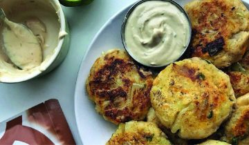 Sage & Onion Potato Cakes
