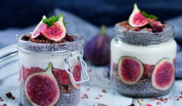 Fig Chia Pudding
