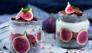 Fig Chia Pudding