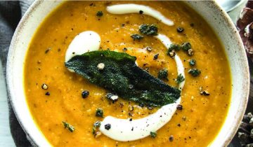 Roasted Root Soup