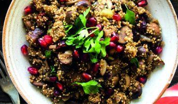 Festive Cranberry & Chestnut Quinoa