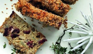 Cranberry and Macadamia Nut Roast