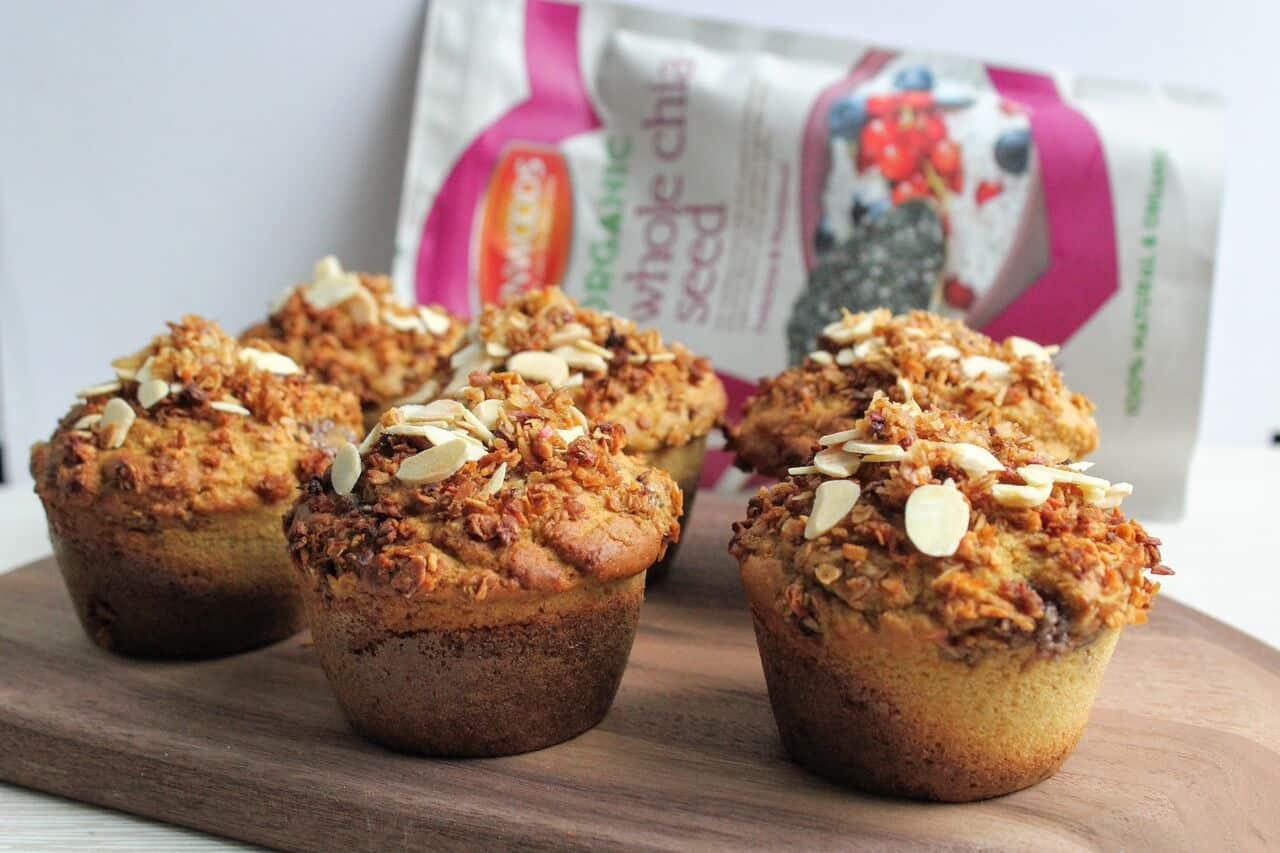 Almond Crumble Muffin