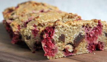 Chocolate, Raspberry & Almond Loaf