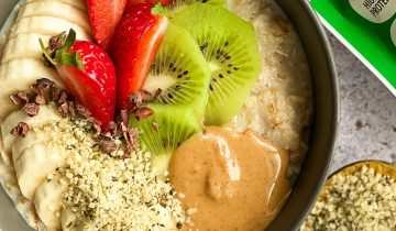 KIWI & STRAWBERRY OATS