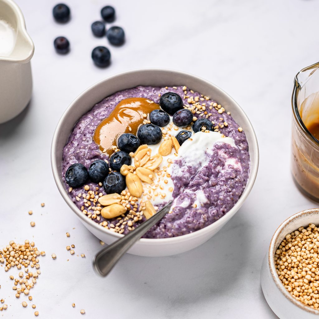 Blueberry Coconut Oats