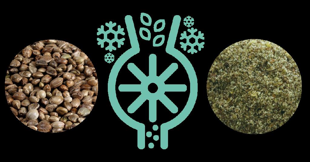 MULTIBOOST Organic Milled Hemp Seed Process