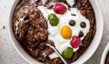 Chocolate Easter Porridge
